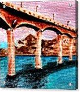 Four Bears Bridge Acrylic Print