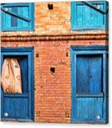 Four Blue Windows Acrylic Print