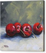 Four Cherries Acrylic Print