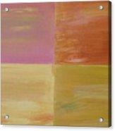 Four Coloured Squares Acrylic Print
