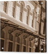 Four Corners In New Orleans Acrylic Print