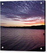 Four Elements Sunset Sequence 4 Coconuts Qld  Acrylic Print