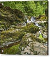 Four Falls Walk Waterfall 3 Acrylic Print