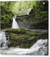 Four Falls Walk Waterfall 5 Acrylic Print
