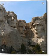 Four Former U S Presidents Acrylic Print