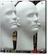 Four Heads Are Better Than One Acrylic Print