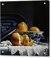 Four Lemons With Canton Acrylic Print