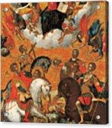 Four Military Saints Acrylic Print