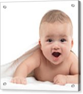 Four Month Old Baby Boy Acrylic Print