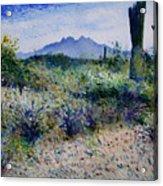 Four Peaks Phoenix Arizona Usa 2003  Acrylic Print