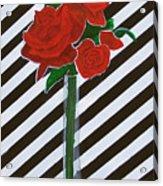 Four Roses Acrylic Print