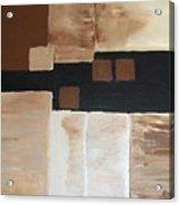 Four Square Acrylic Print by Marsha Heiken