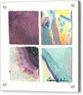 Four Squares Pastelisa Acrylic Print