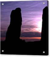 Four Stones Folly Clent Hills Acrylic Print