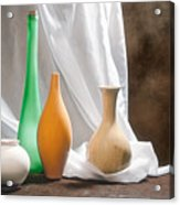 Four Vases II Acrylic Print by Tom Mc Nemar