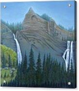 Fourmile Falls And Fall Creek Falls Acrylic Print