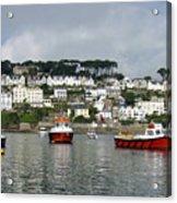Fowey Harbor Cornwall Acrylic Print