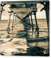 Fowlers Bay Jetty Acrylic Print