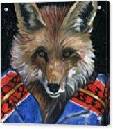 Fox Medicine Acrylic Print