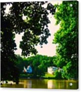 Fox River Acrylic Print
