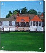 Foxrock Golf Club Acrylic Print