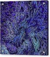 Fractal Blues Acrylic Print