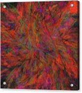 Fractal Burst Acrylic Print