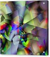 Fractal Cubism Acrylic Print