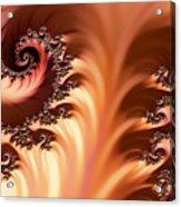 Fractal Desert Acrylic Print