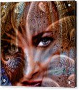 Fractal Eyes Acrylic Print