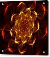Fractal Floral 062610a Acrylic Print