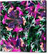 Fractal Floral Riot Acrylic Print