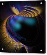 Fractal Of The Day Se02 Ep02 Wings Acrylic Print