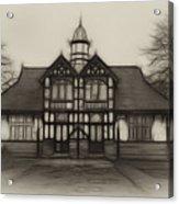 Fractal Pavilion Acrylic Print
