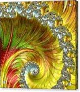 Fractal Spiral Three Acrylic Print