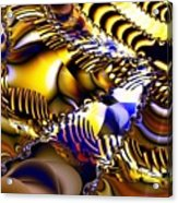 Fractal Structures Acrylic Print
