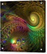 Fractal Swirls Acrylic Print