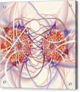 Fractal Synapse Acrylic Print