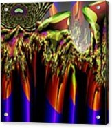 Fractal Torch Acrylic Print
