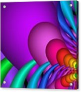 Fractalized Colors -1- Acrylic Print