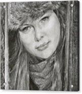 Framed - After Maureen Killaby Acrylic Print