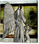Framed Angel Acrylic Print