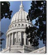 Framed Capitol Acrylic Print