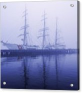 Framed In Fog Acrylic Print