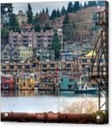Framed In Seattle Acrylic Print by Spencer McDonald
