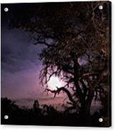 Framed Moon Acrylic Print