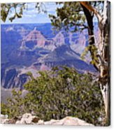 Framed View - Grand Canyon Acrylic Print