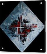 Frammenti In Rosso E Nero Acrylic Print