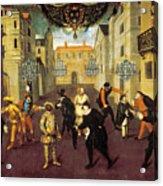 France: Comedy, 1670 Acrylic Print