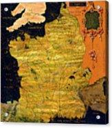France Map Acrylic Print